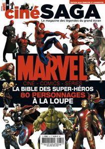 MAGAZINE CINE SAGA N°31 - MARVEL, LA BIBLE DES SUPER-HEROS > 80 PERSONNAGES...