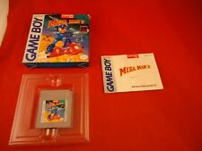 Mega Man II (Nintendo Game Boy, 1992) COMPLETE w/ Box DAMAGED MANUAL game WORKS!