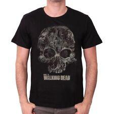 THE WALKING DEAD - T-SHIRT WALKER SKULL TAILLE XL