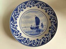 Hand Painted Delft Plate