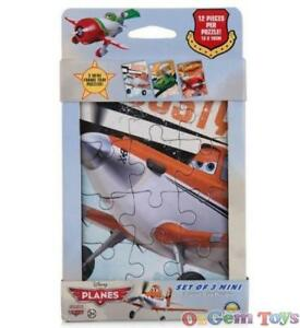 Disney Planes Set of 3 Mini Tray Puzzles