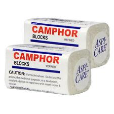Refined Camphor Alcanfor 2 Blocks (8 tablets) Bug Repellent, Reduce Tool Tarnish