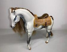 Bratz Doll Fashion Wild West Horse Tan Gold Silver Rhinestones Saddle Glitter