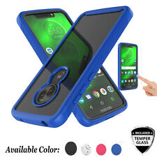 For Motorola Moto G7/Plus/Play/Power/Optimo Maxx Case With Screen Protector 360