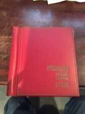 Old World Quick change Illustrated Stamp Album, With Hundreds Of Old Stamps