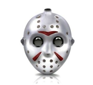 JASON VOORHEES FRIDAY 13TH HORROR FILM CHARM 925 STERLING SILVER  💜💛💜