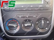 fiat punto ADESIVI climatizzatore manuale cover tuning DECAL sticker carbonlook
