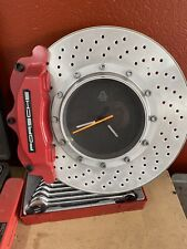 Auto Art Wall Clock -Brake Disc With Red Caliper  ( High Quality And Very Rare)
