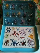 Pokemon Bottle Cap 13 Lot Kaiyodo Case Pack Figure Box Set