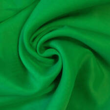Plain Cotton Voile Dress Fabric Green Color Fabric By the 5 Meter