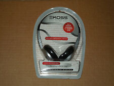 KOSS Featherweight Stereophones Headband Headphones - Silver/Black