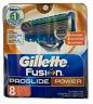 Gillette Fusion Proglide Power Refill Razor Blade Cartridges, 8 Ct.