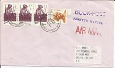 India  Book-Post  Printed Matter Air Mail  Cover to Richmond Highams Park London