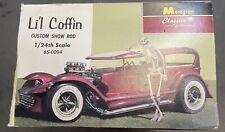 """vintage Monogram""""Lil Coffin"""" model car kit"""