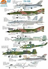 Wolfpak Decals 72-120 USAFE  F16 Falcon McDonnell Douglas F-4 Phantom F15 Eagle