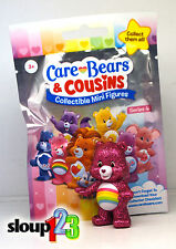 *CARE BEARS & COUSINS - SERIES 4 - GLITTER CHEER BEAR - RARE *