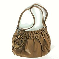 Brighton Leather Purse With Strap Flower Coin Purse