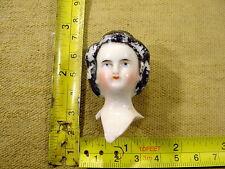 excavated painted victorian Doll head Hertel & Schwab age 1860 German Art.1347