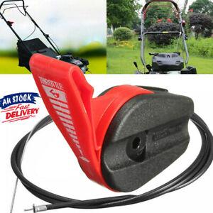 Universal Throttle Control + Cable Lawn Mower Briggs Stratton Victa Rover Heavy
