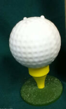 Golf tee ball golfing pipe glass Avon cologne after shave bottle bottles 1 WD8