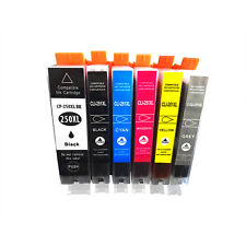 PGI-250 CLI-251 Ink Cartridge Use for Canon PIXMA MG5422 MG6320 MX722 MX922 Gray