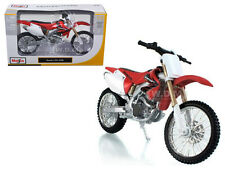 HONDA CRF 450R RED/WHITE BIKE 1/12 MOTORCYCLE BY MAISTO 31104