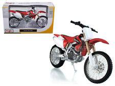 HONDA CRF 450R RED/WHITE BIKE 1/12 MOTORCYCLE BY MAISTO 31104