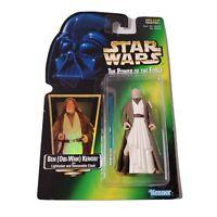 Vintage Kenner 1997 Star Wars POTF (Ben Obi-Wan Kenobi) w/Green Backer (NIB)