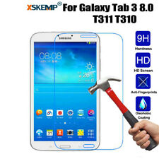 """9H Tempered Glass Screen Protector For Samsung Galaxy Tab 3 8.0"""" T310 T311 T315"""