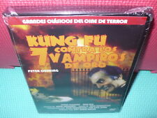 KUNG FU CONTRA LOS 7 VAMPIROS DE ORO - PETER CUSHING - dvd