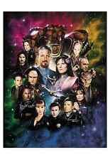 Babylon 5 Cast Mini Print