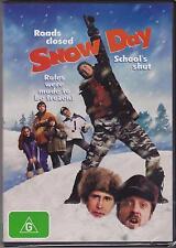 SNOW DAY - CHEVY CHASE - CHRIS ELLIOTT - MARK WEBBER - JEAN SMART - DVD - NEW