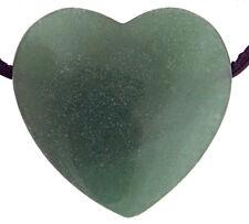Anhänger schwarzer Achat Kette Silber Heilstein 8,8g 33x30x5mm Herz