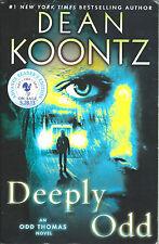 SIGNED PROOF - DEAN KOONTZ - DEEPLY ODD - 2013 UNREAD