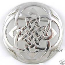 Kilt écossais Broche celtique entrelacs Design Écossais fait solide étain New BOXED