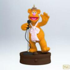 Fozzie Bear 2012 Hallmark Disney Muppets Ornament  Music  Microphone  Miss Piggy