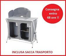 PORTA FORNELLO MOBILETTO SVELTO CAMPEGGIO - PIANO TAPPARELLA 87x50 + BORSA