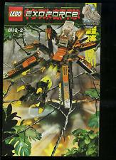 LEGO -- 8112/2 -  Nur Bauanleitung -- EXOFORCE --