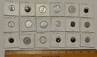 18 MIXED TOKEN LOT COIN TOKENS AND PLAY MONEY