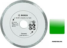 NUOVO Bosch 125 mm Lama Di Diamante Piastrelle in ceramica/2607019473 3165140415910