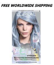 L'Oreal Paris Feria Smokey Pastels Smokey Blue Hair Color FREE WORLD SHIPPING