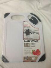 "Farberware Nonslip Cutting Board W/built In Knife Sharpener 8""x10"" Bpa Free"