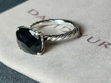 DAVID YURMAN Color Classics Ring with Black Onyx, Size6.5