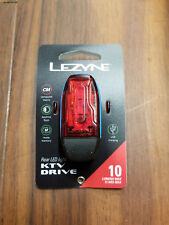 Lezyne LED KTV Drive 10 Lumen Rear Bicycle Tail Light, Blue
