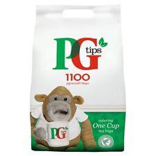 PG Tips 1100 una taza Pirámide Bolsitas De Té Catering tamaño Pack-Gran británico Cuppa