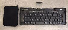 Palm PDA P10713U Portable Foldable Keyboard Dock Unit W/ Zipper Pouch USED