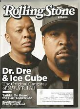 Rolling Stone magazine Dr. Dre Ice Cube cover Aug 27 2015 complete Gilmour D