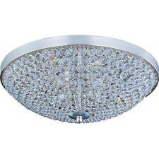 Maxim Lighting Glimmer 4-Light Flush Mount Plated Silver - 39871BCPS