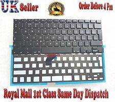 Genuine Apple Macbook Pro 13 Retina A1502 Keyboard & Backlight UK QWERTY 2013-15