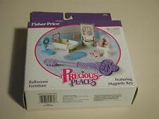 PRECIOUS PLACES BATHROOM FURNITURE # 5174 INCOMPLETE MACAO 1988 NEAR MINT